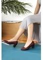 G.Ö.N. Hakiki Deri Ayakkabı Bordo